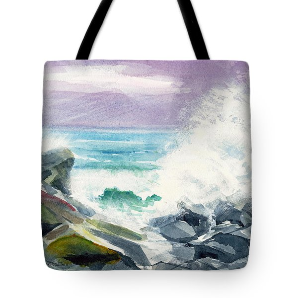 High Surf Tote Bag by Joan Hartenstein