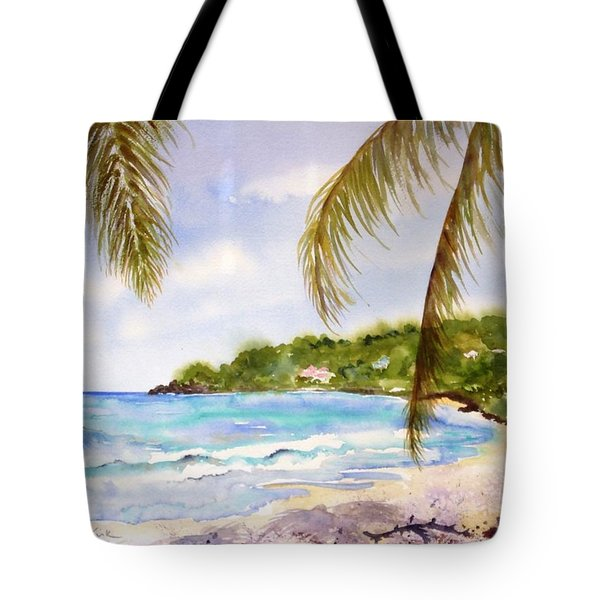High Tide At Brewers Tote Bag