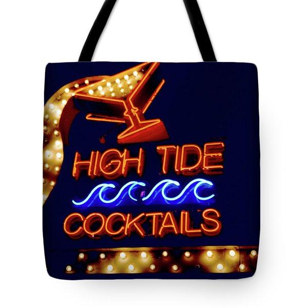 High Tide Cocktails Tote Bag