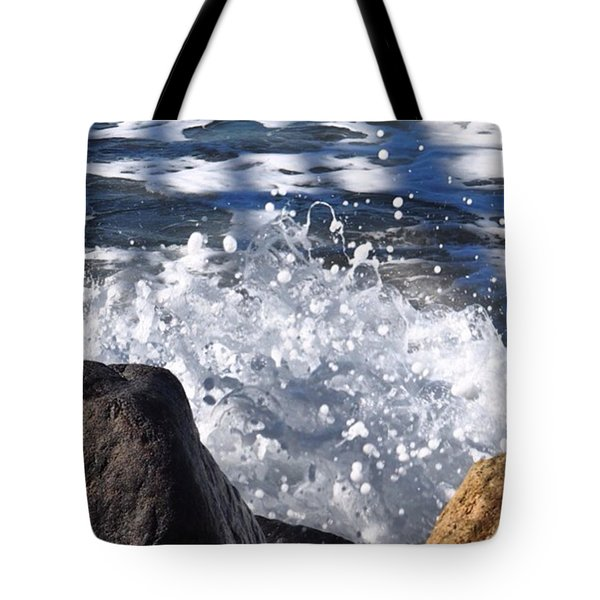 High Tide.  Tote Bag