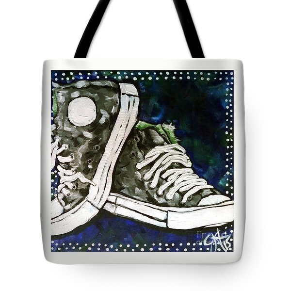 High Top Heaven Tote Bag by Jackie Carpenter
