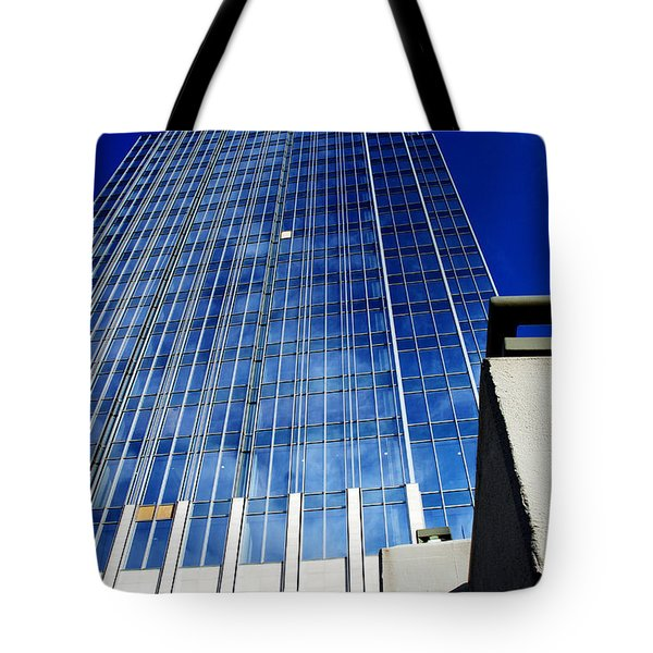 High Up To The Sky Tote Bag by Susanne Van Hulst