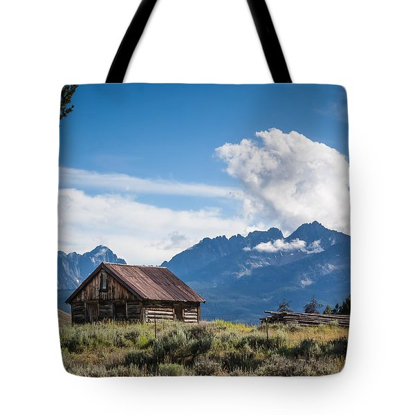 High Valley Cabin 2 Tote Bag