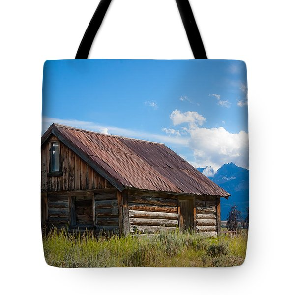 High Valley Cabin Tote Bag