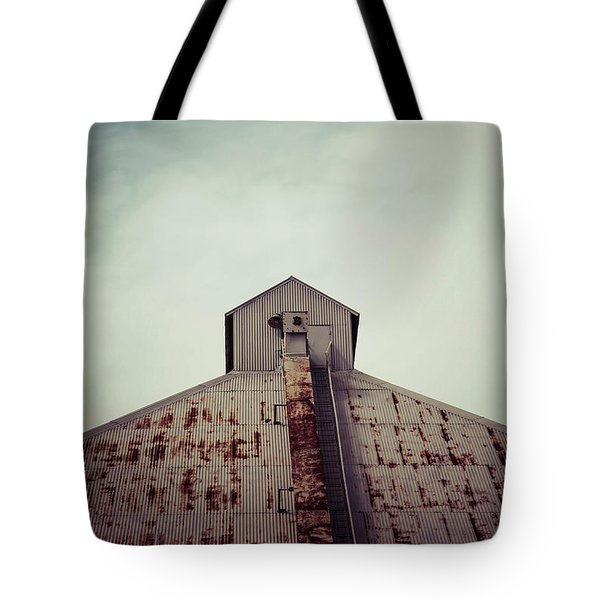 Tote Bag featuring the photograph High View by Trish Mistric