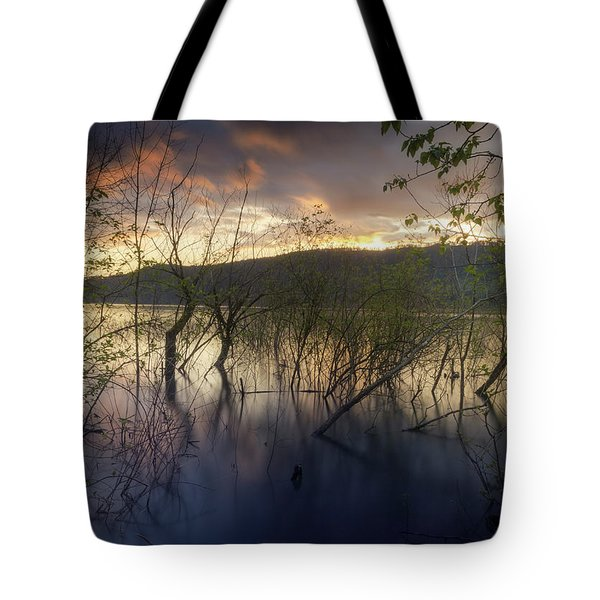 High Water Sunset Tote Bag