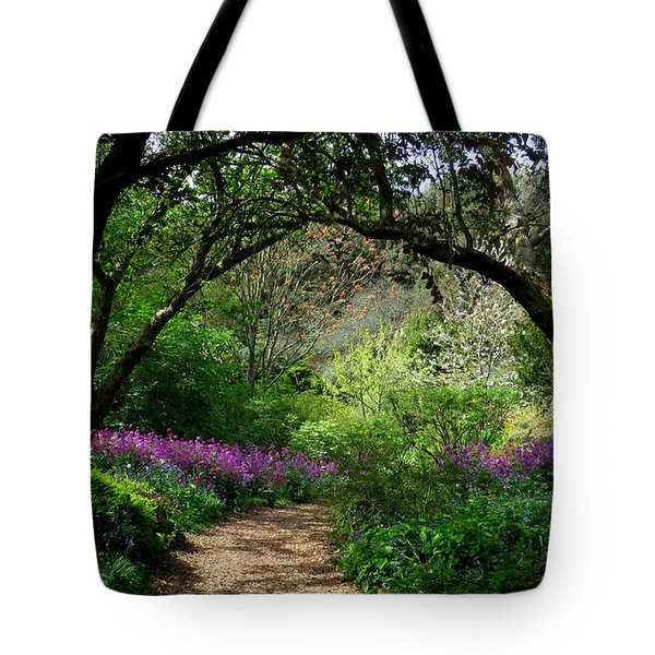 Highdown Gardens2 Tote Bag