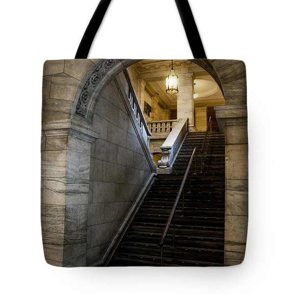 Tote Bag featuring the photograph Higher Knowledge by Allen Carroll