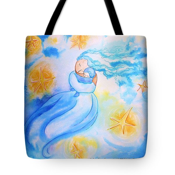 Higher Then The Stars Tote Bag by Gioia Albano