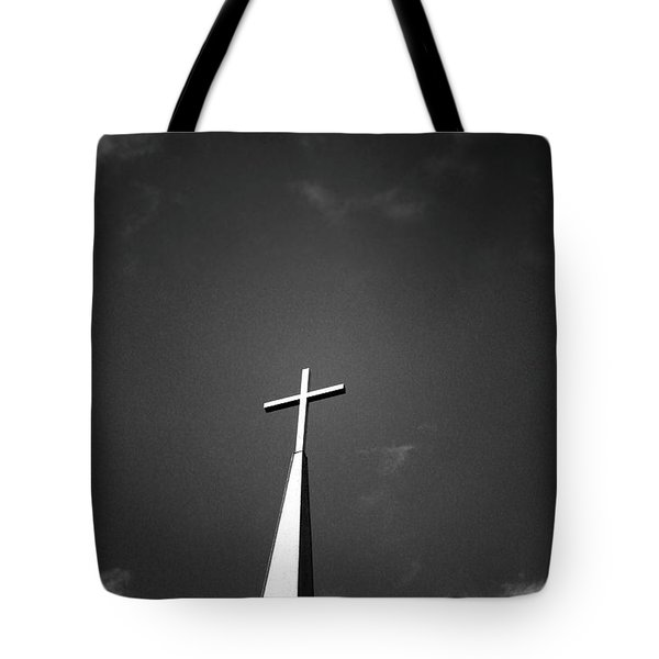 Higher To Heaven - Black And White Photography By Linda Woods Tote Bag