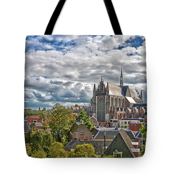Highland Church Seen From Leiden Castle Tote Bag
