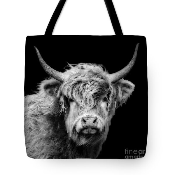 Highland Coo Tote Bag by Linsey Williams