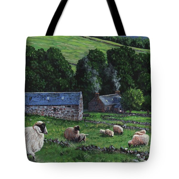 Highland Croft Tote Bag