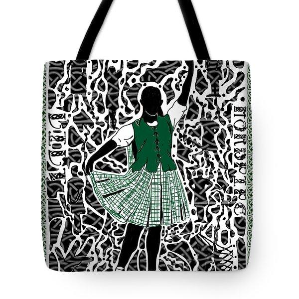 Highland Dancing Tote Bag