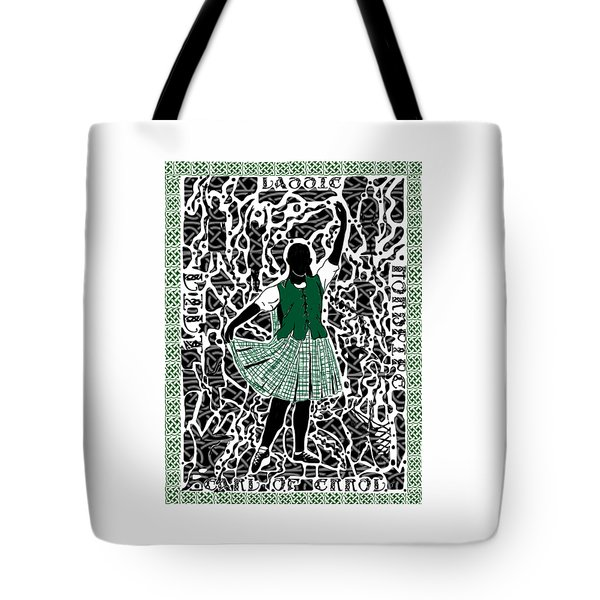 Highland Dancing Tote Bag