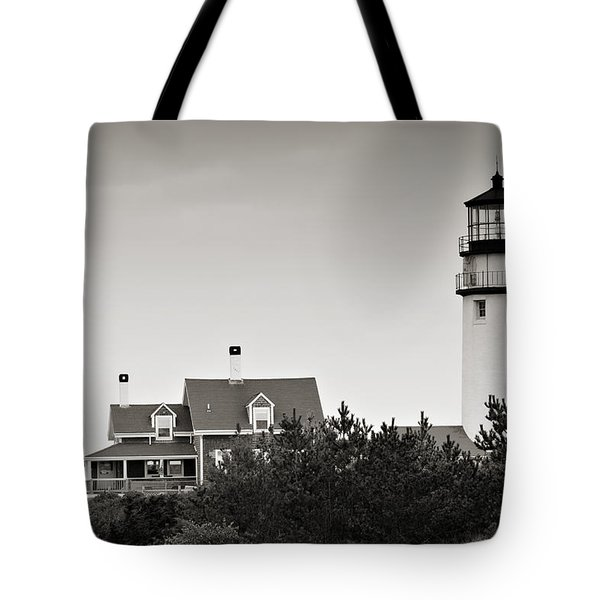 Highland Light At Cape Cod Tote Bag