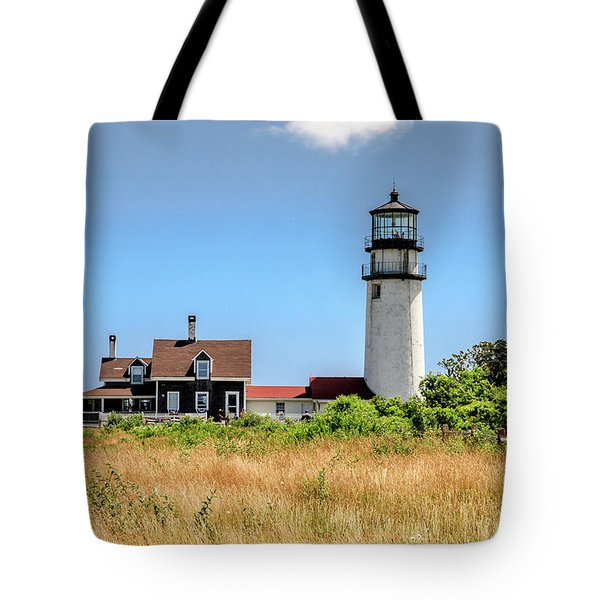 Tote Bag featuring the photograph Highland Light - Cape Cod by Peter Ciro