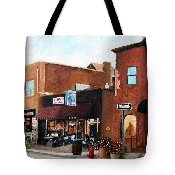 Highland Park Nj Tote Bag