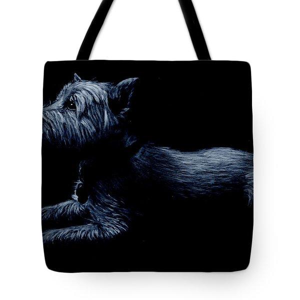 Highland Terrier Tote Bag