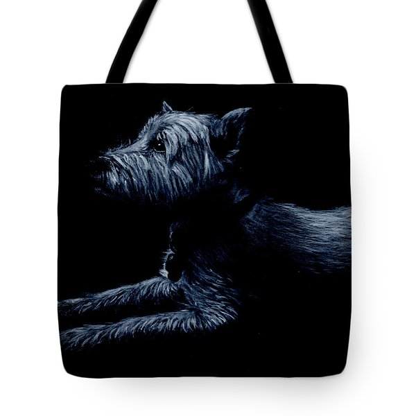 Highland Terrier Tote Bag
