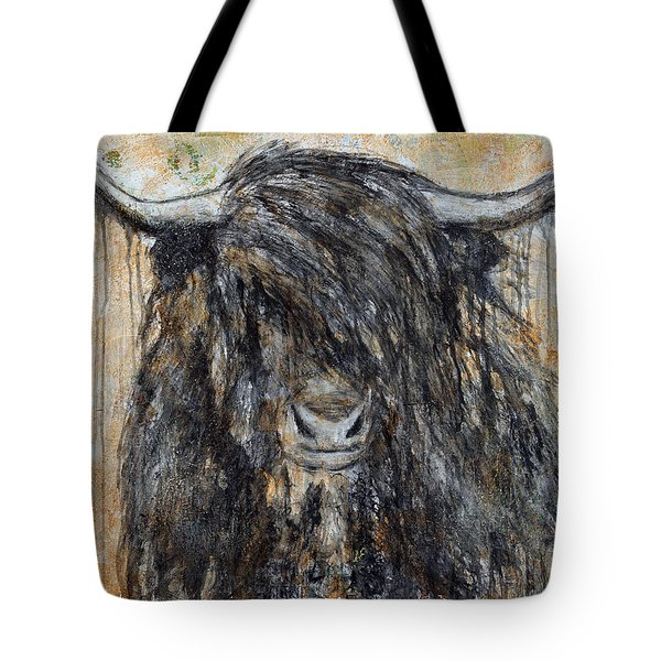 Highlander Tote Bag by Jennifer Godshalk