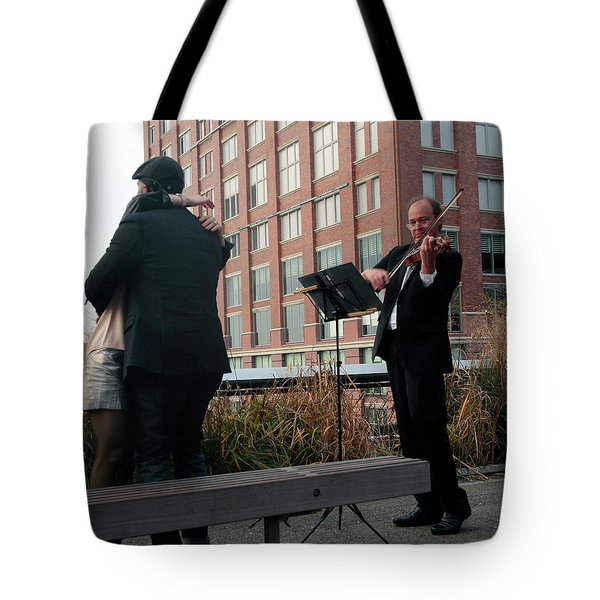 Tote Bag featuring the photograph Highline Serenade by Madeline Ellis