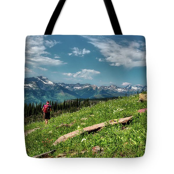 Highline Trail Adventure Tote Bag