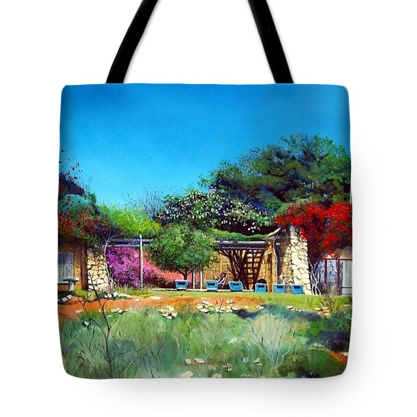 Highveld House Tote Bag
