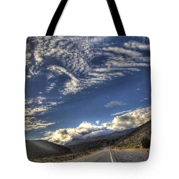 Highway 157 Tote Bag