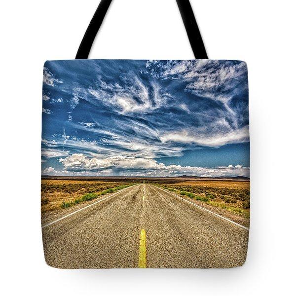 Highway 64 To Taos Tote Bag