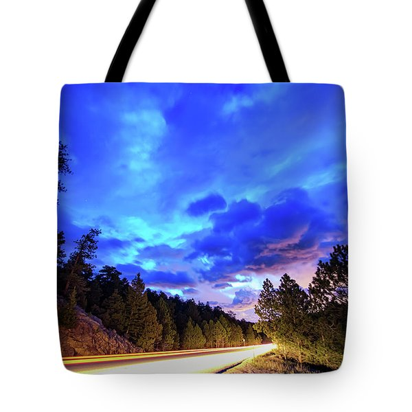 Highway 7 To Heaven Tote Bag by James BO Insogna