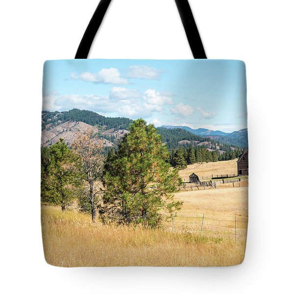 Highway 97 Ranch Memories Tote Bag