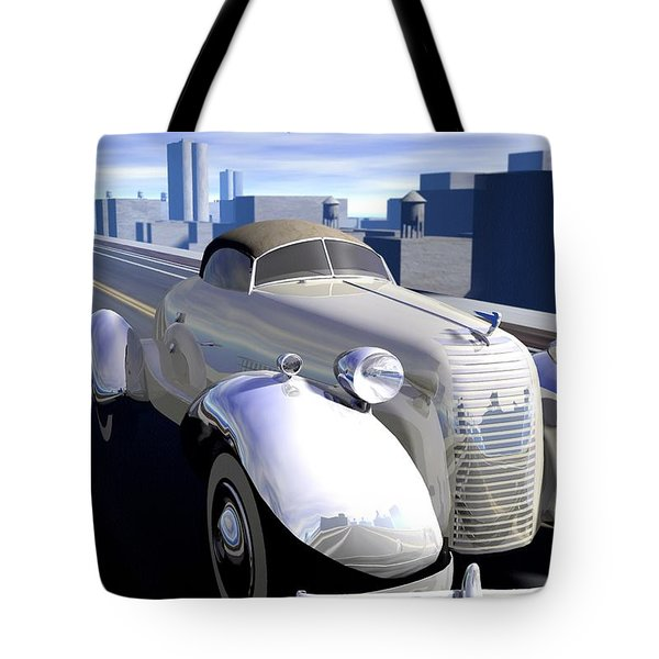 Highway Tote Bag by Cynthia Decker