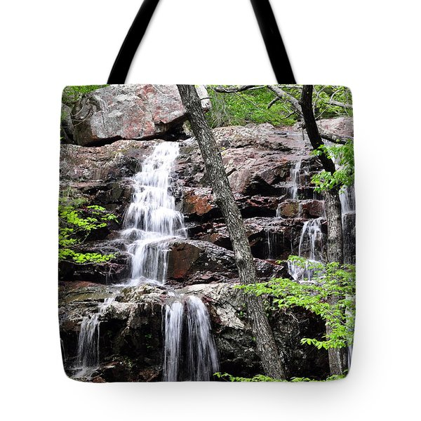 Highway E Falls 9 Tote Bag by Marty Koch