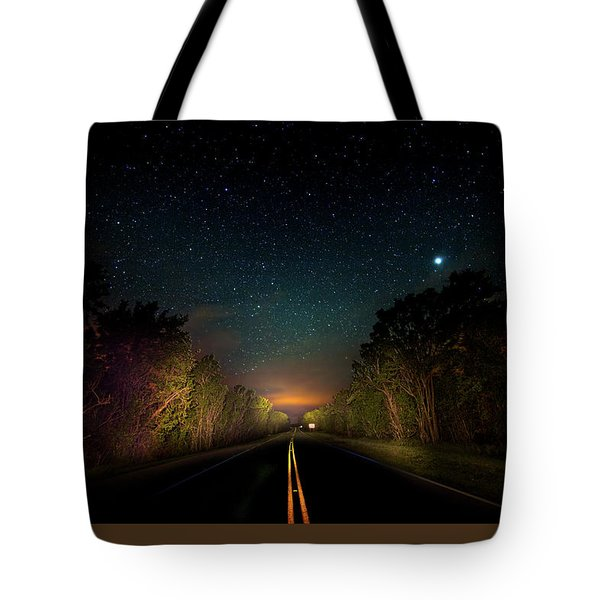 Highway To The Stars Tote Bag by Mark Andrew Thomas