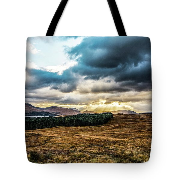 Tote Bag featuring the photograph Higlands Wonders by Anthony Baatz