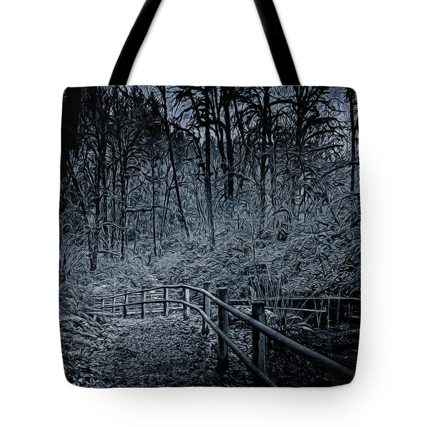 Hike In Forest Tote Bag