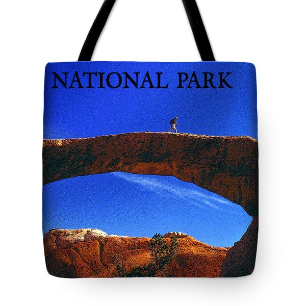 Hiking Arches Tote Bag by David Lee Thompson