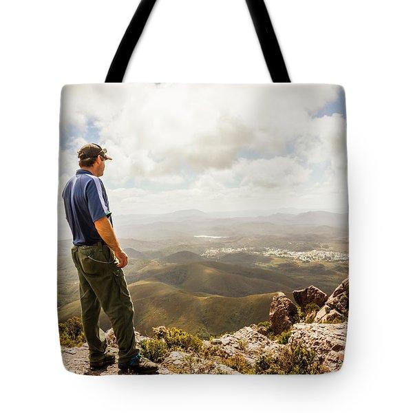Hiking Australia Tote Bag