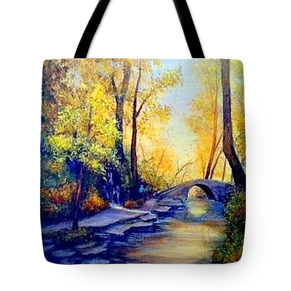Hiking Tote Bag by Gail Kirtz