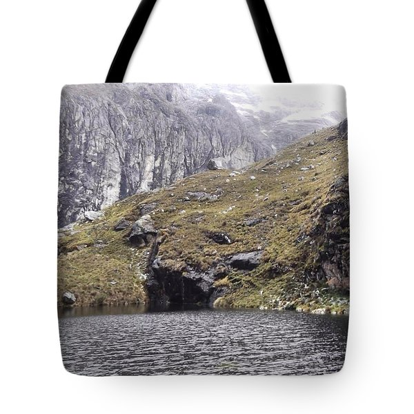 Hiking In The Cordillera Blanca, Peru Tote Bag