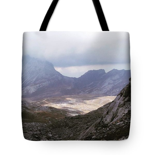 Hiking In The Picos De Europa, Spain Tote Bag