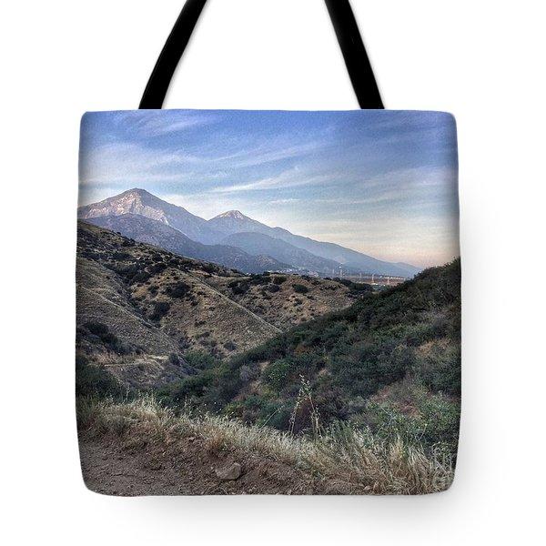 Hiking Johnson's Pasture Tote Bag