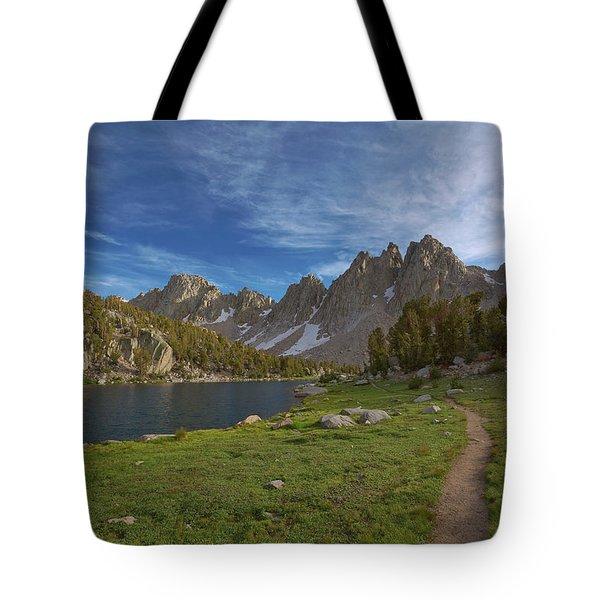 Hiking Kearsarge Tote Bag
