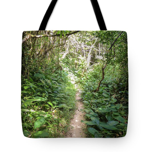Hiking Path In The Atlantic Forest Tote Bag