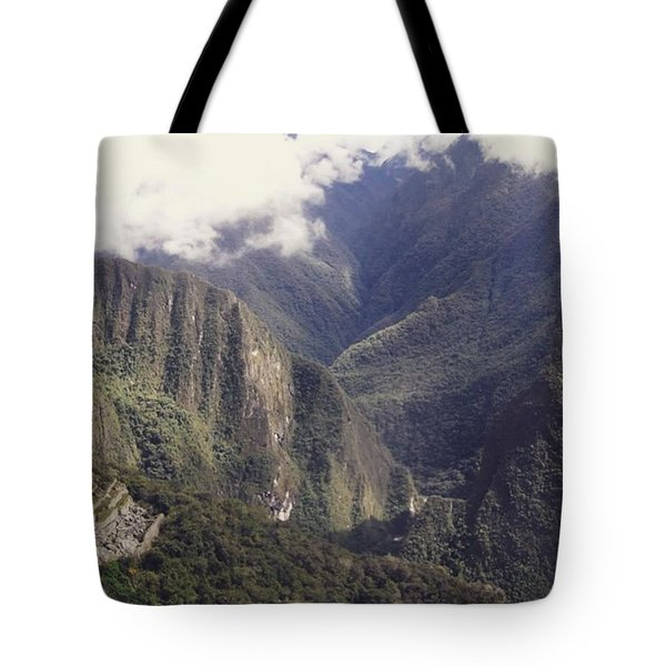 Journey To The Sun Gate Tote Bag