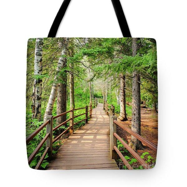 Hiking Trail Tote Bag