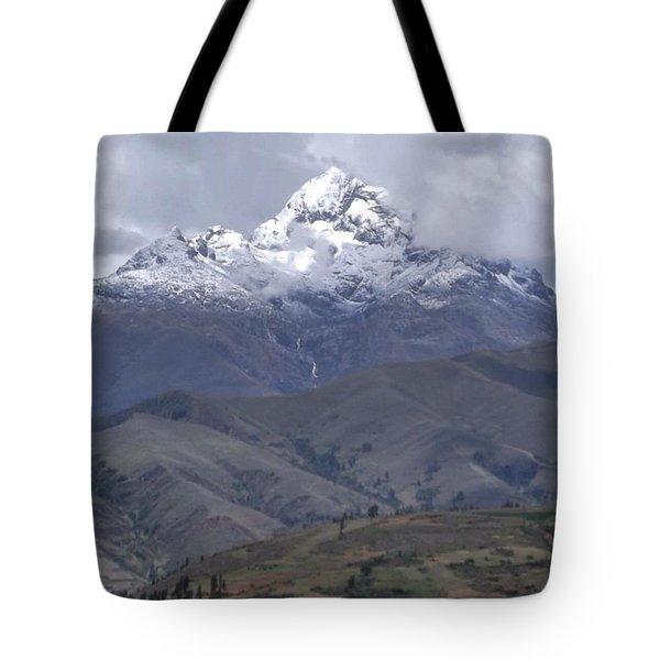 Cordillera Blanca Tote Bag