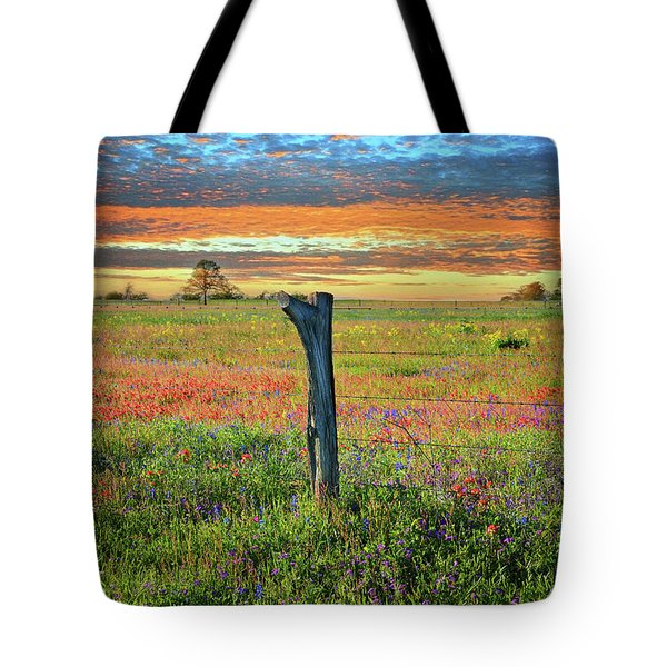 Hill Country Heaven Tote Bag by Lynn Bauer