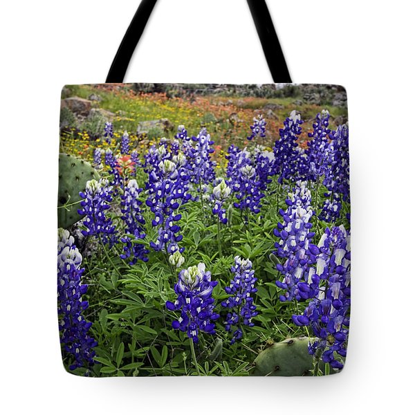 Hill Country Palette Tote Bag